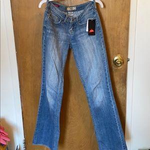 Ymi Cotton Jeans Low Rise Boot Cut